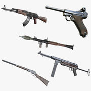 AAA Game Weapons Collection Vol.1 modelo 3d