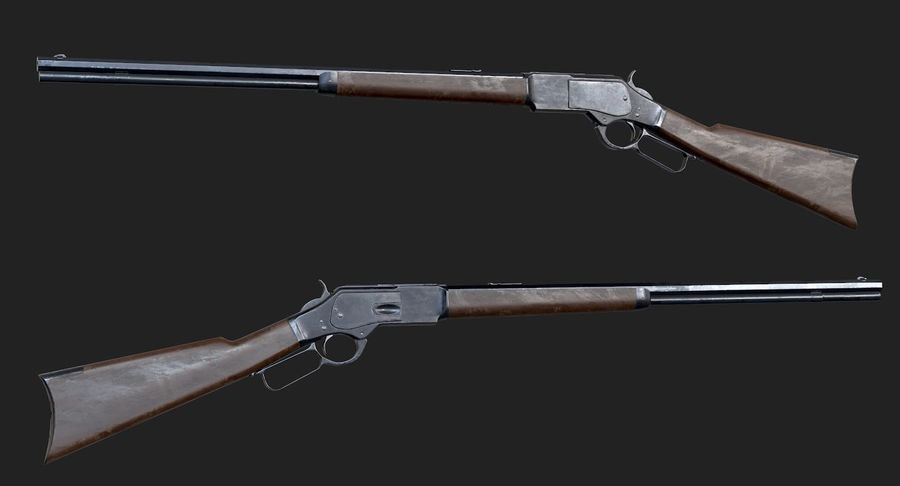 AAA Game Weapons Collection Vol.1 royalty-free modelo 3d - Preview no. 30