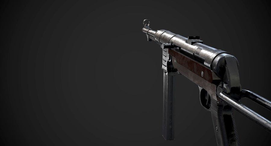 AAA Game Weapons Collection Vol.1 royalty-free modelo 3d - Preview no. 18