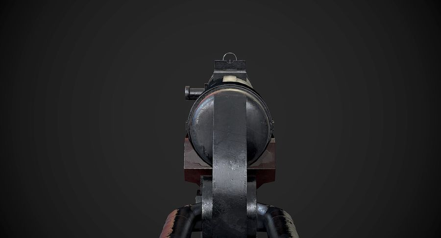 AAA Game Weapons Collection Vol.1 royalty-free modelo 3d - Preview no. 20