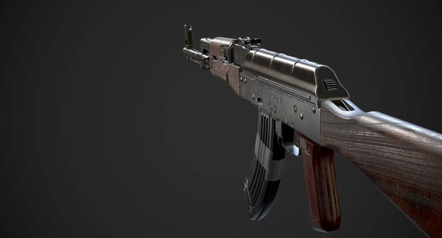 AAA Game Weapons Collection Vol.1 royalty-free modelo 3d - Preview no. 4