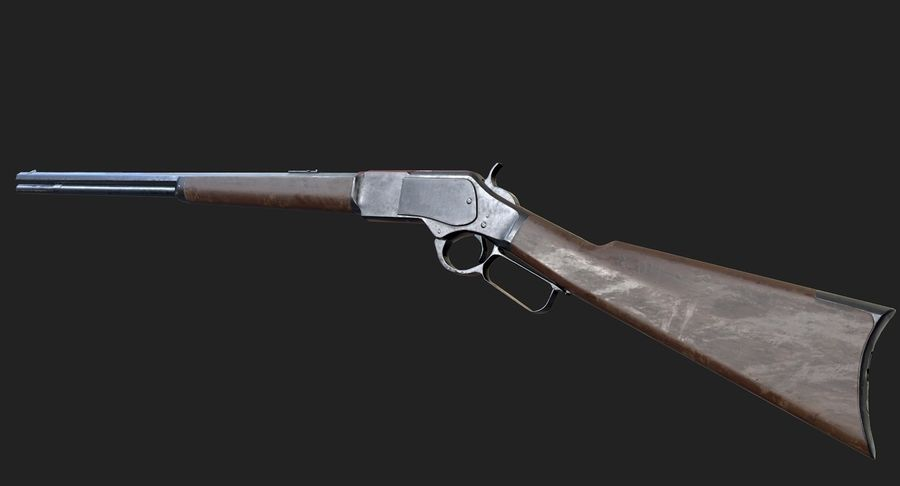 AAA Game Weapons Collection Vol.1 royalty-free modelo 3d - Preview no. 32