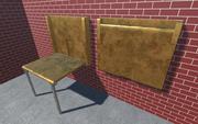 Ukryty stół 1 Metal 1 3d model