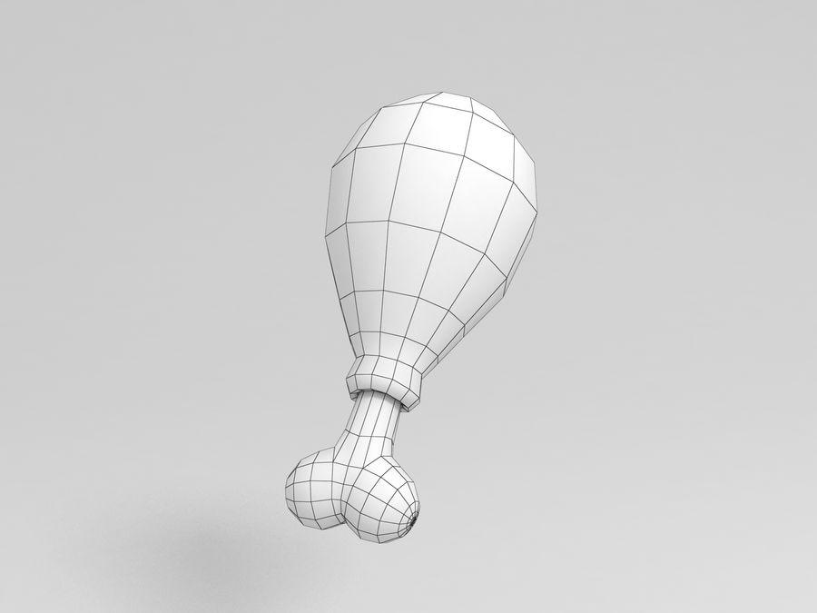 닭다리 royalty-free 3d model - Preview no. 5