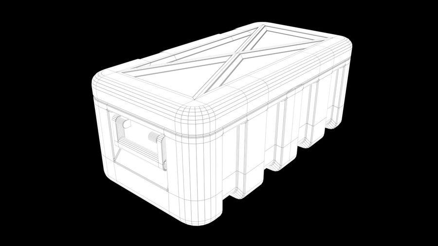プラスチック製チェスト royalty-free 3d model - Preview no. 4