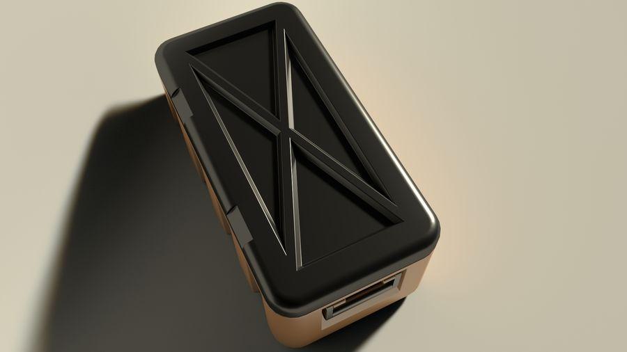 プラスチック製チェスト royalty-free 3d model - Preview no. 3