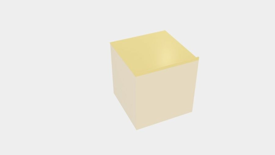 Cabinet Drawer royalty-free 3d model - Preview no. 3