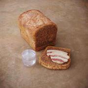 베이컨과 슬라브 빵 3d model