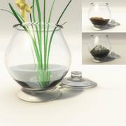 Terrarium Jar with Fills 3d model