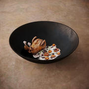 Chicken with Cream Sauce 3d model