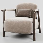 Ditreitalia NATHY扶手椅 3d model