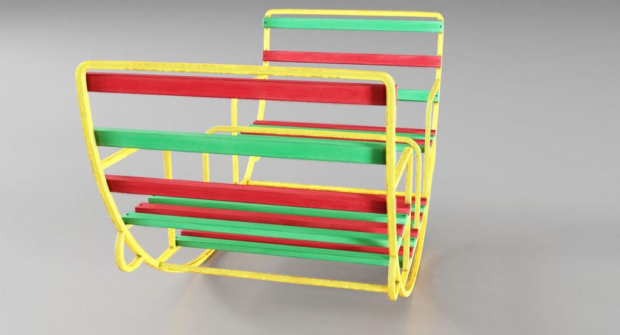 Ronde schommel voor kinderen royalty-free 3d model - Preview no. 5