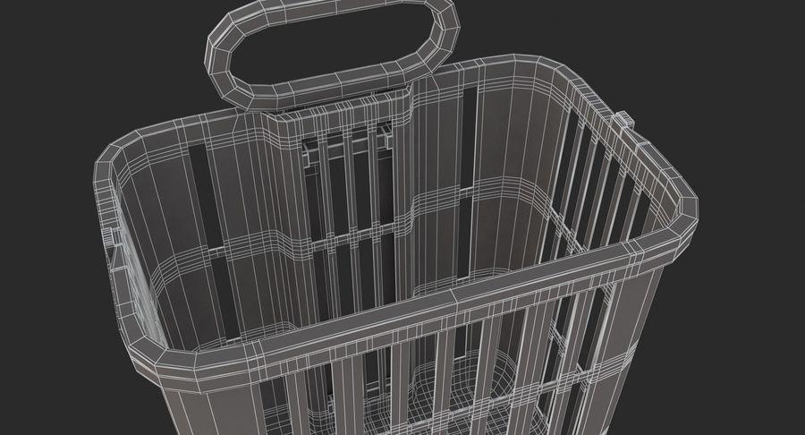 Supermercado - carrinho de compras com rodas royalty-free 3d model - Preview no. 11