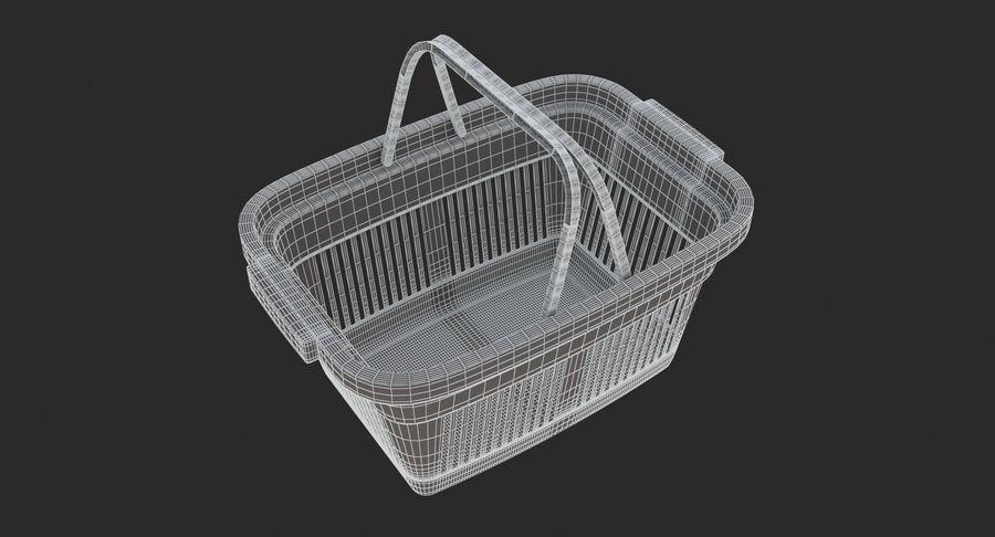 Supermercado - Cesto de compras de plástico royalty-free 3d model - Preview no. 9