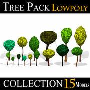 低聚树包 3d model