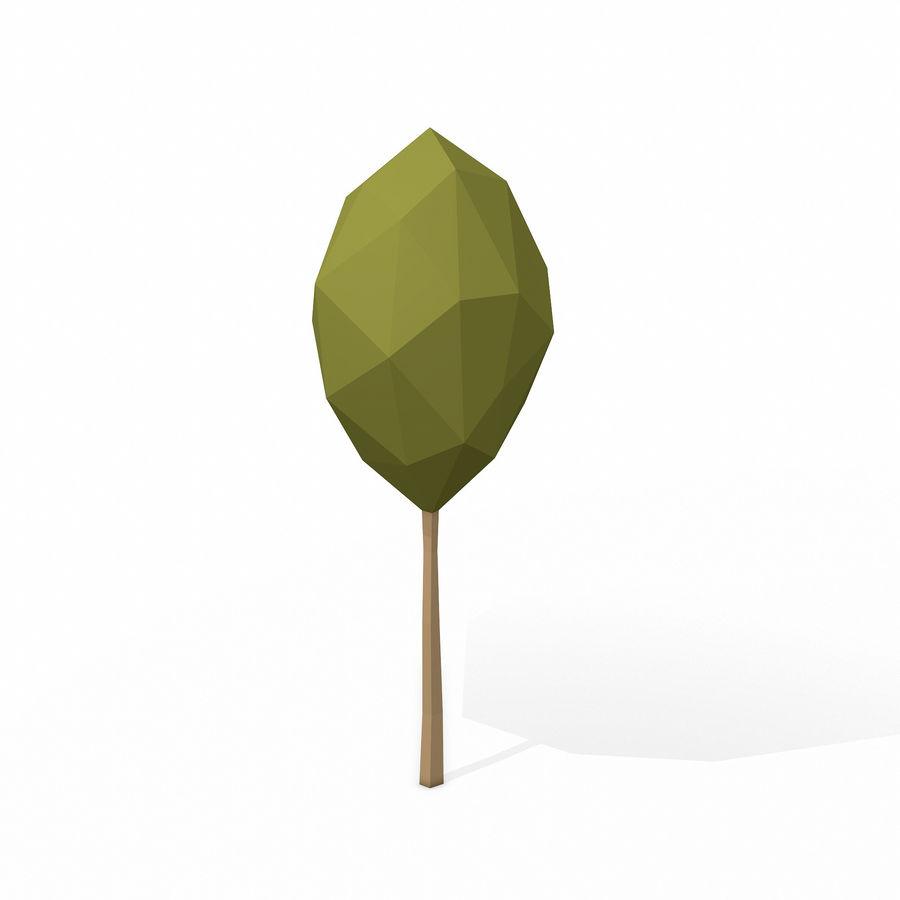 简单的树包-低聚 royalty-free 3d model - Preview no. 19