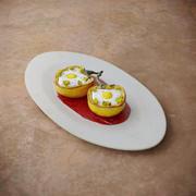 ペッパーの朝食オムレツ 3d model