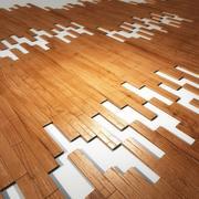 Tiling Plank Floor 3d model