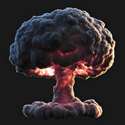 Nuclear Explosion 3d model