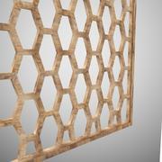 Wooden Partition/ Jali 3d model