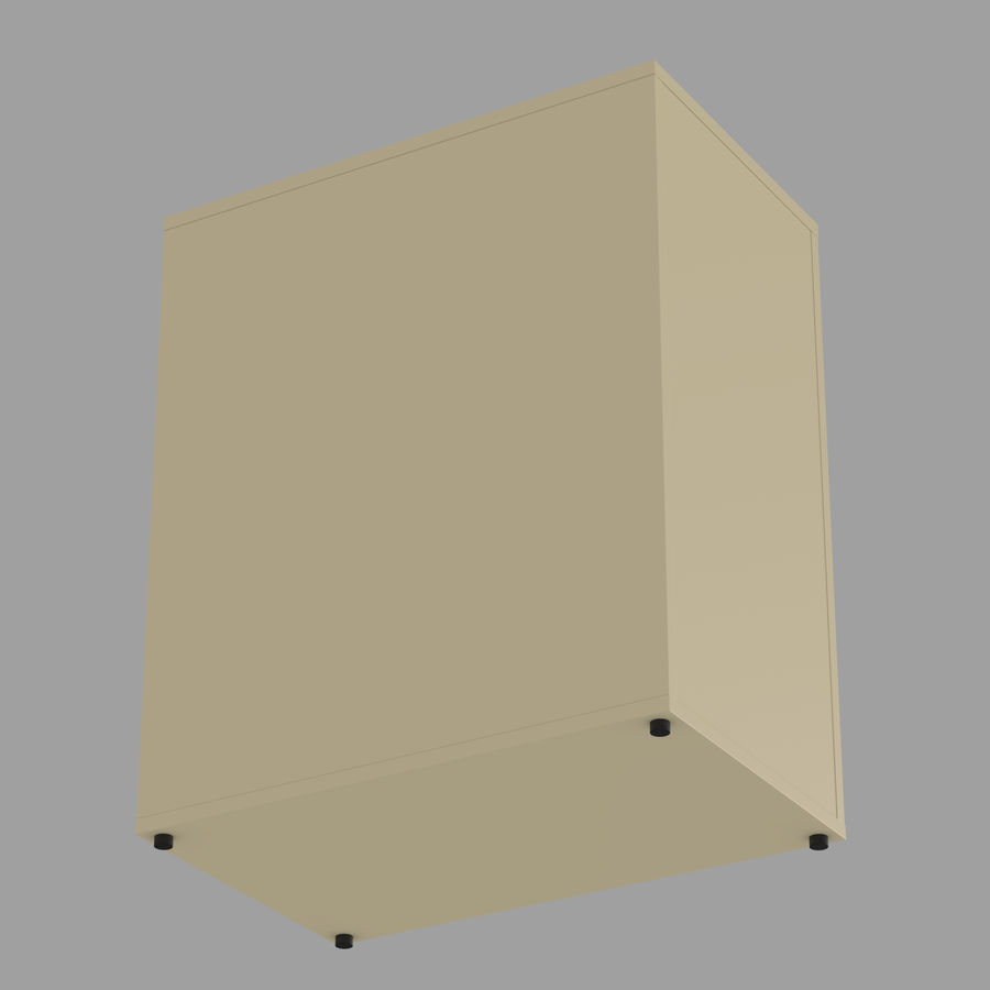 IKEA ALEX låda royalty-free 3d model - Preview no. 28