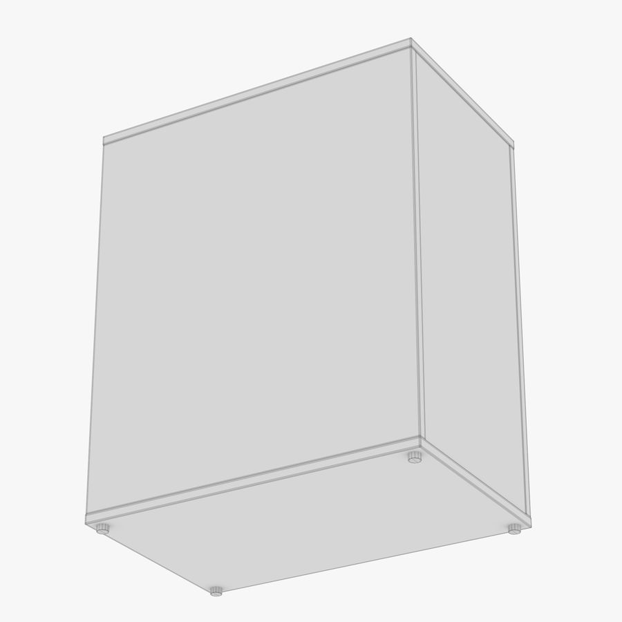IKEA ALEX låda royalty-free 3d model - Preview no. 32