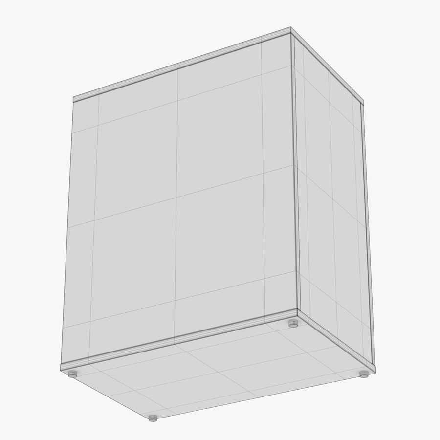 IKEA ALEX låda royalty-free 3d model - Preview no. 33
