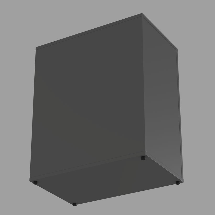 IKEA ALEX låda royalty-free 3d model - Preview no. 14