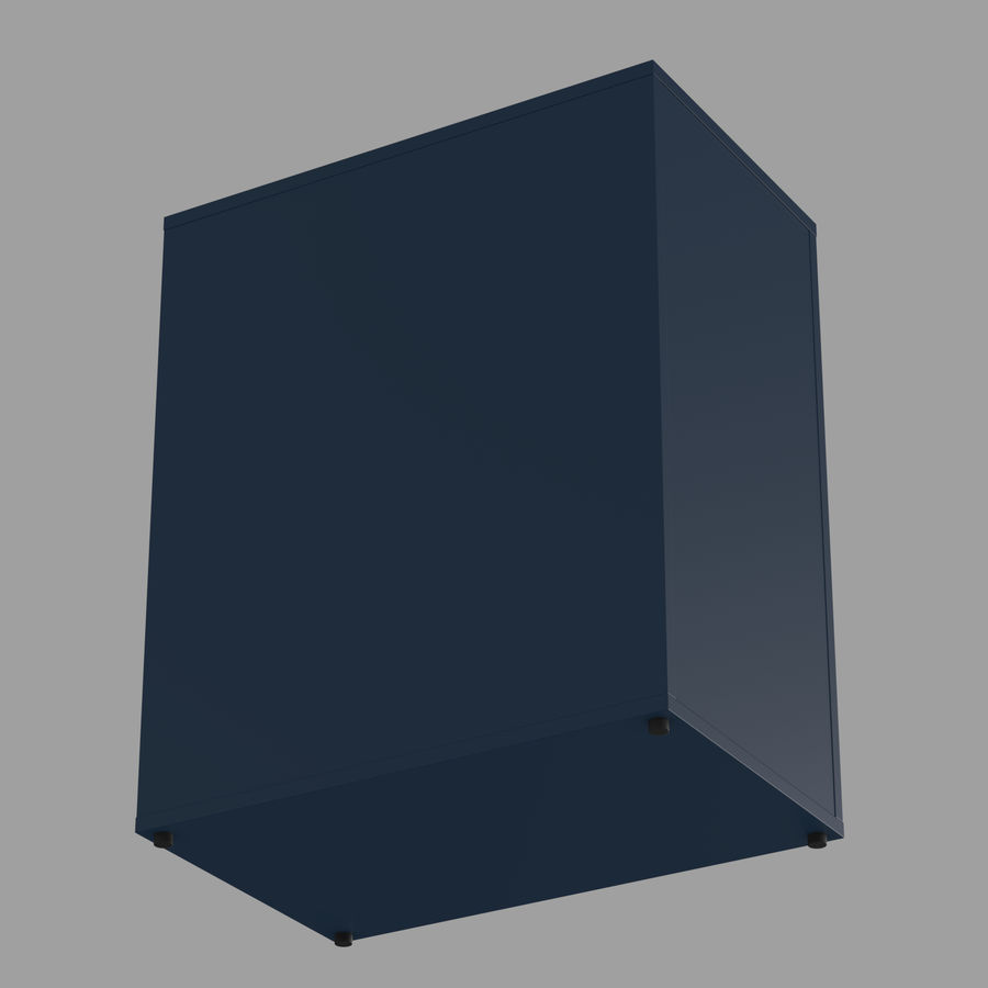 IKEA ALEX låda royalty-free 3d model - Preview no. 21