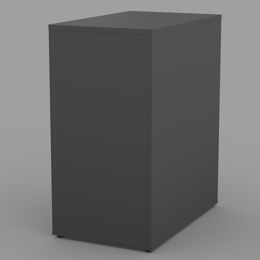 IKEA ALEX låda royalty-free 3d model - Preview no. 13