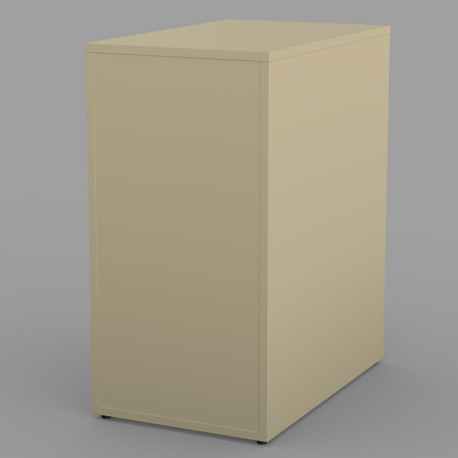 IKEA ALEX låda royalty-free 3d model - Preview no. 27