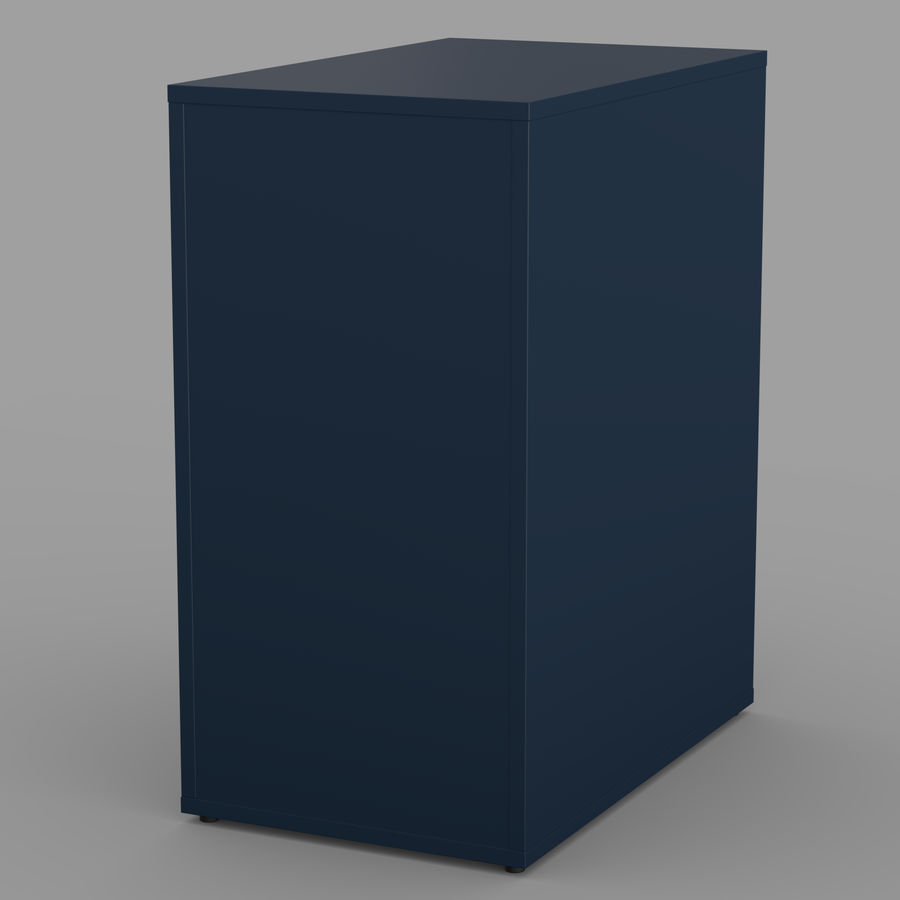 IKEA ALEX låda royalty-free 3d model - Preview no. 20