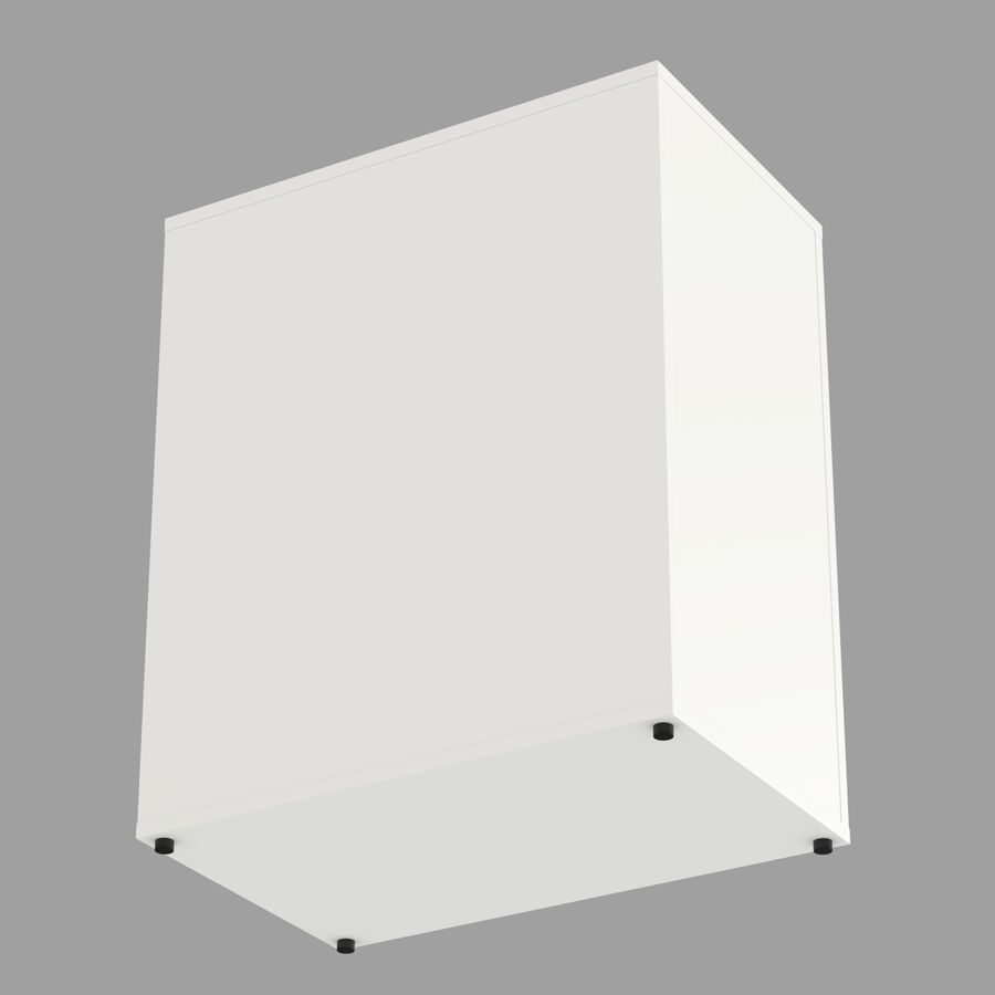 IKEA ALEX låda royalty-free 3d model - Preview no. 7