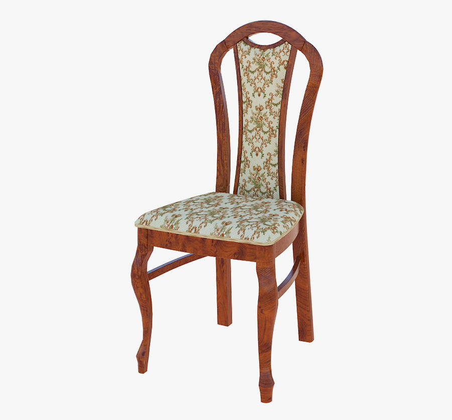 Furniture Dining Chair royalty-free 3d model - Preview no. 4