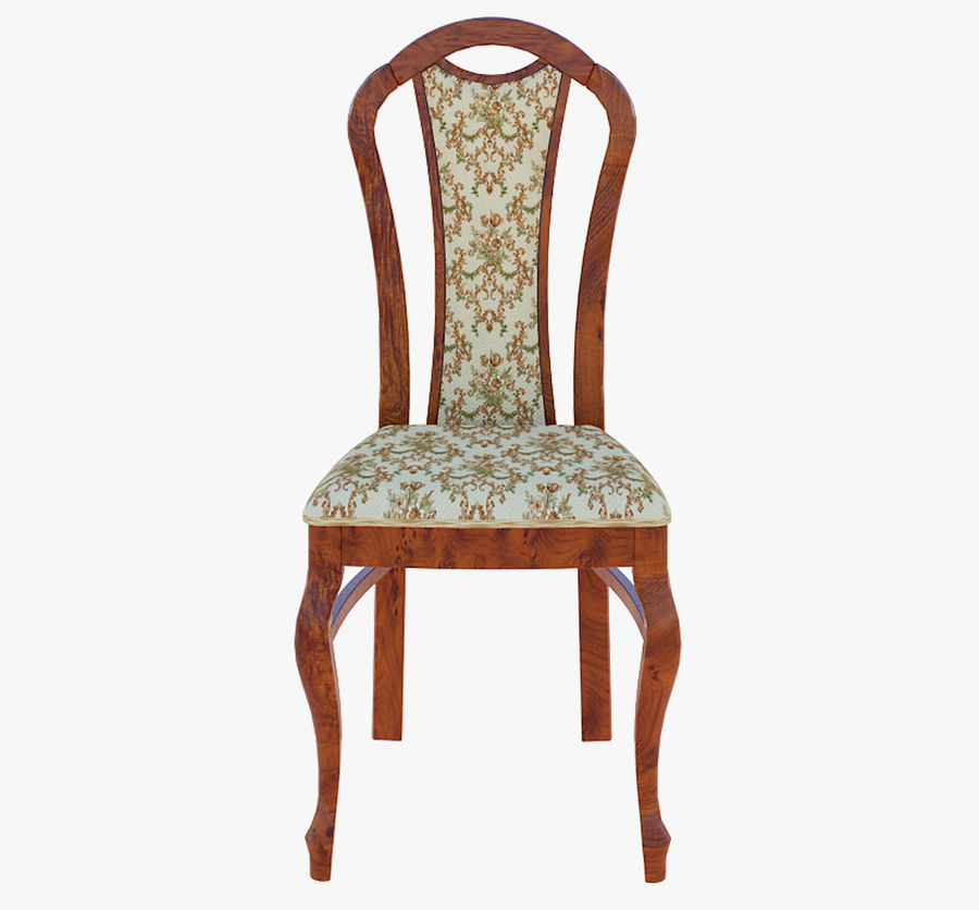 Furniture Dining Chair royalty-free 3d model - Preview no. 5