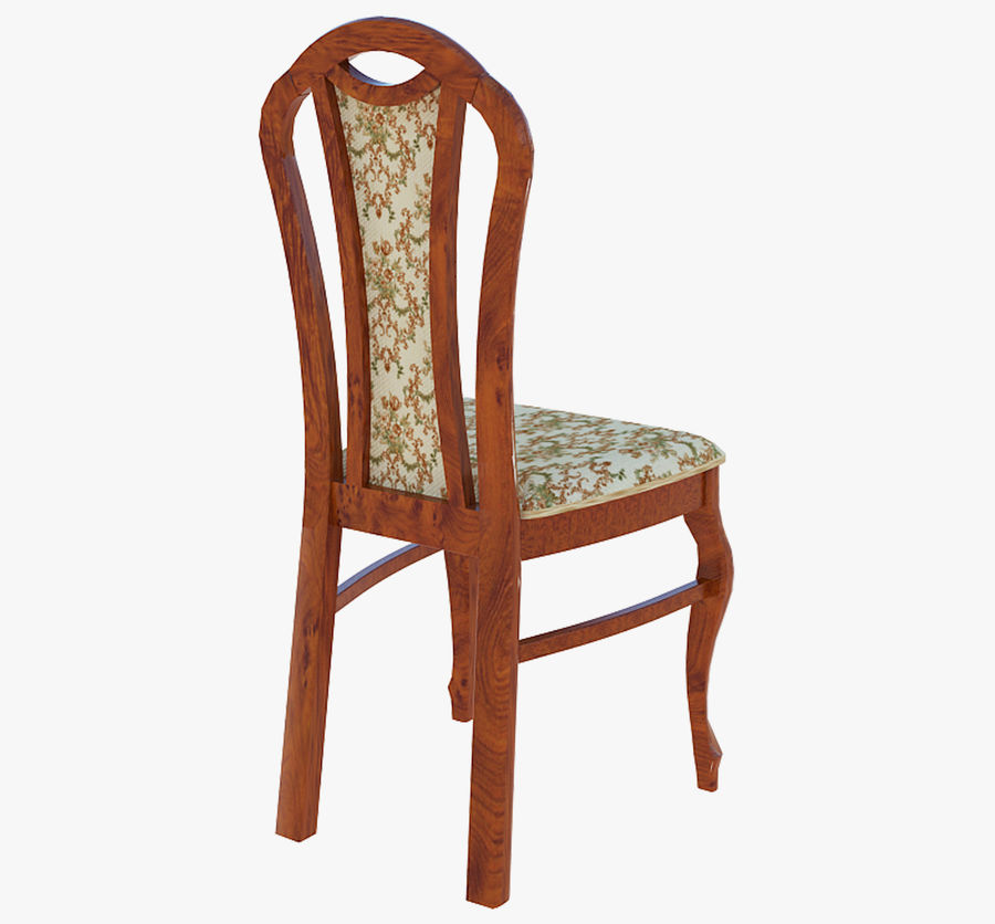 Furniture Dining Chair royalty-free 3d model - Preview no. 2