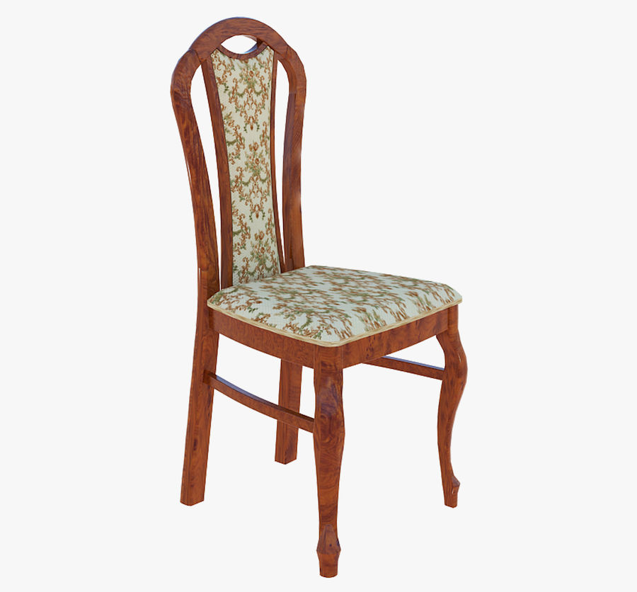 Furniture Dining Chair royalty-free 3d model - Preview no. 1