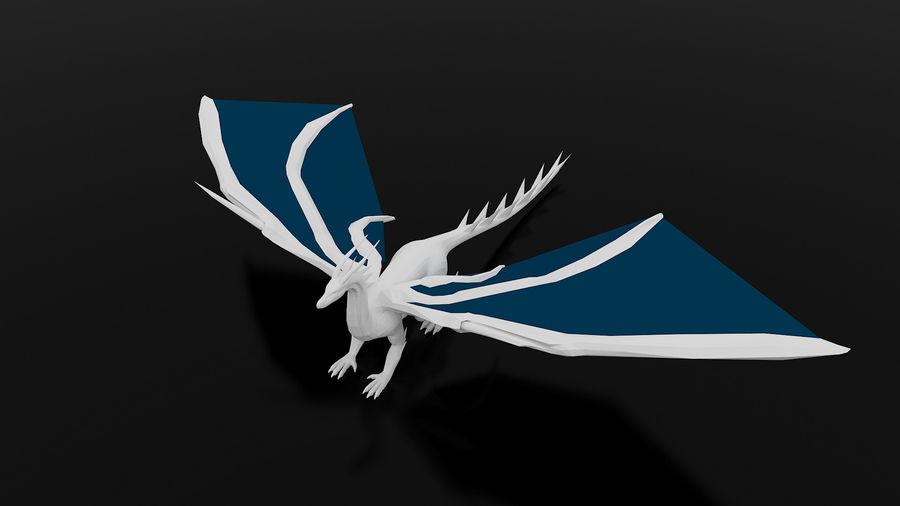Dragon royalty-free 3d model - Preview no. 4