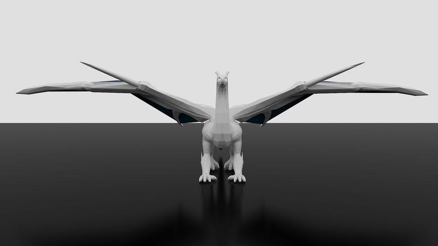 Dragon royalty-free 3d model - Preview no. 5