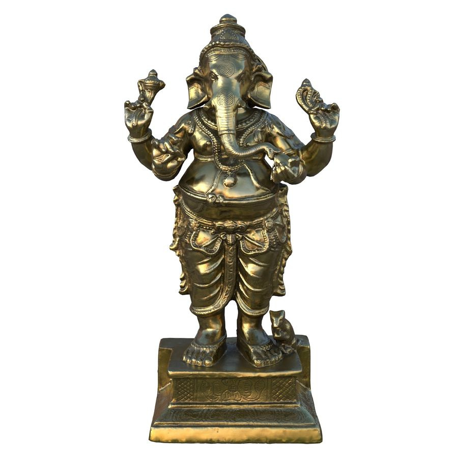 ganesha royalty-free 3d model - Preview no. 13