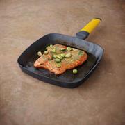 Lachs mit Gemüse 3d model