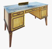 Möbel Classic Schreibtisch 3d model