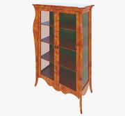 家具经典展示柜 3d model