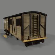 Vagão de carga 3d model