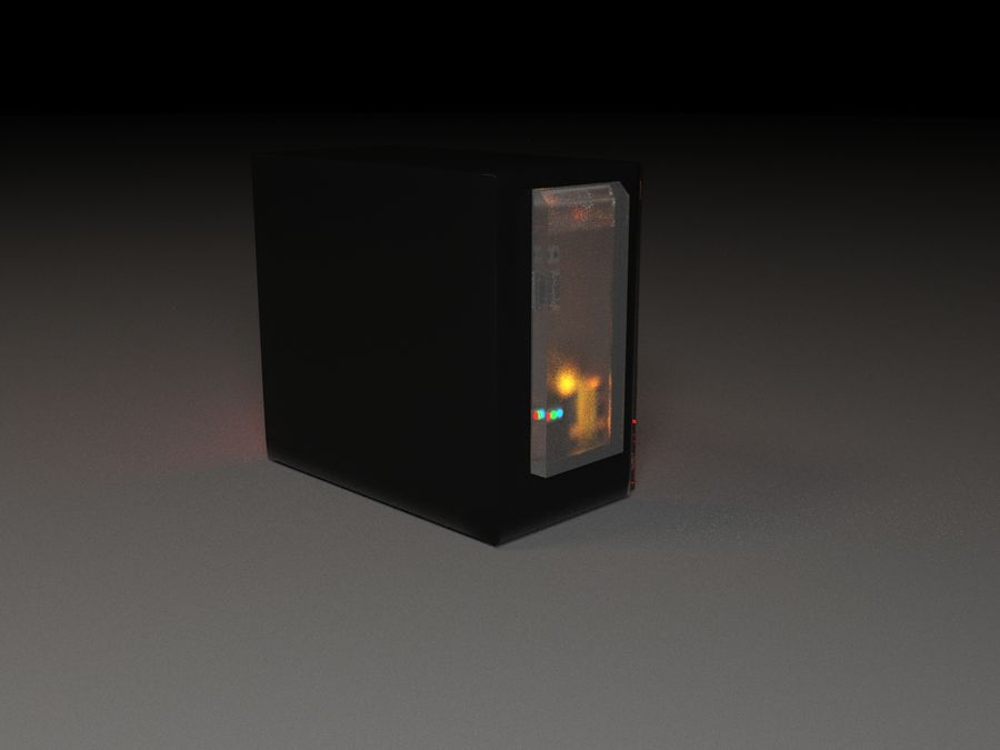 PC royalty-free 3d model - Preview no. 5