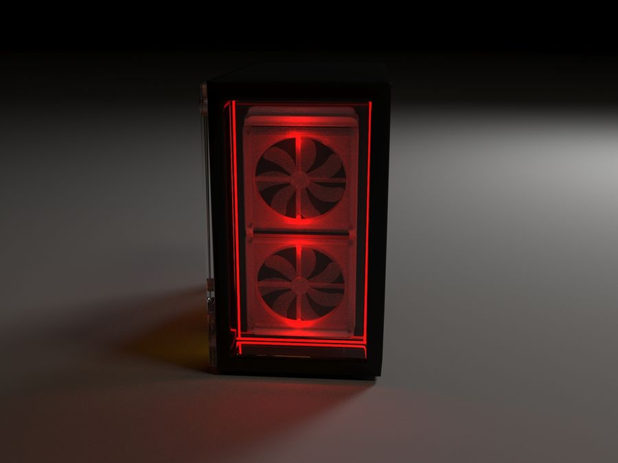 PC royalty-free 3d model - Preview no. 4