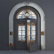 doors entry 3d model