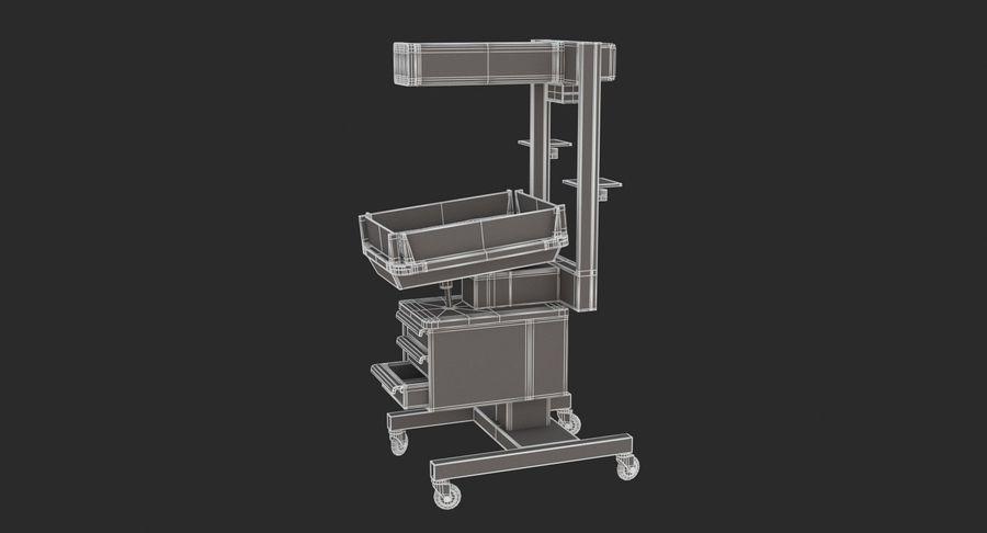 Medicinsk - Spädbarn varmare royalty-free 3d model - Preview no. 6