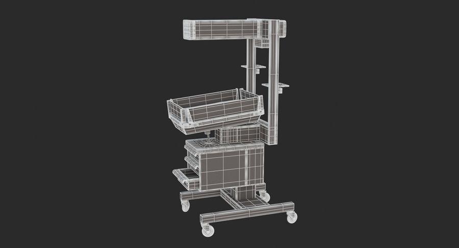 Medicinsk - Spädbarn varmare royalty-free 3d model - Preview no. 7