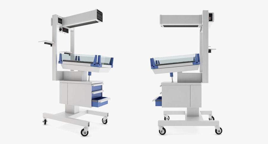 Medicinsk - Spädbarn varmare royalty-free 3d model - Preview no. 2